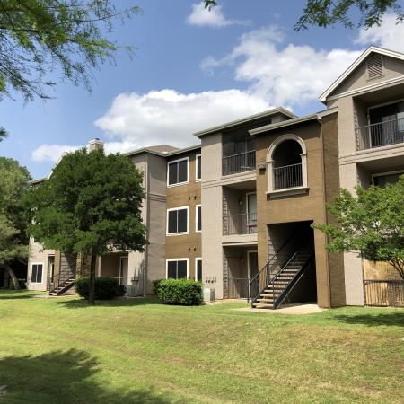 Exterior of apartment homes in Madison at Stone Creek | Austin TX
