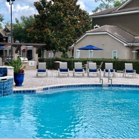 Ballantrae apartments with pool