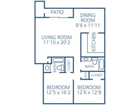 Two Bed Two Bath - Silver Package