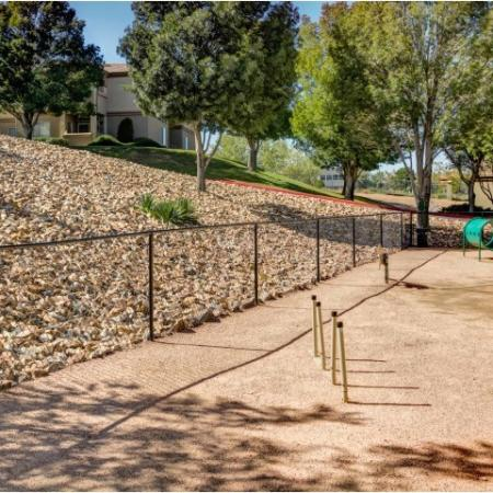 Dog Park | pet friendly community | Rio Rancho apartment complex