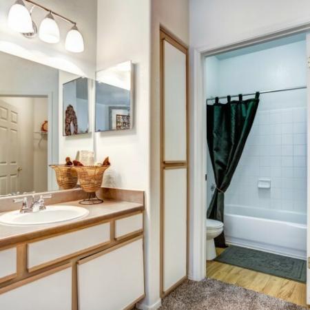 Bathroom | 2 Bedroom apartment in Rio Rancho community