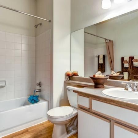 Bathroom | Rio Ranch apartment community