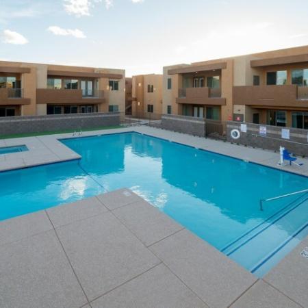 Pima Canyon apartment pool | Tucson AZ apartment complex