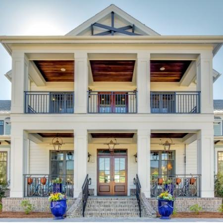 Clubhouse entrance | Daniel Island | Charleston SC