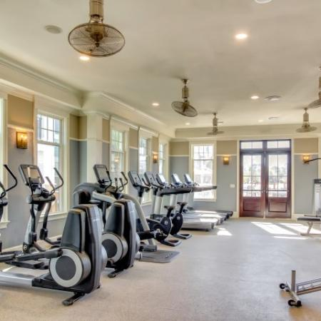 Fitness center with Cardio & strength equipment