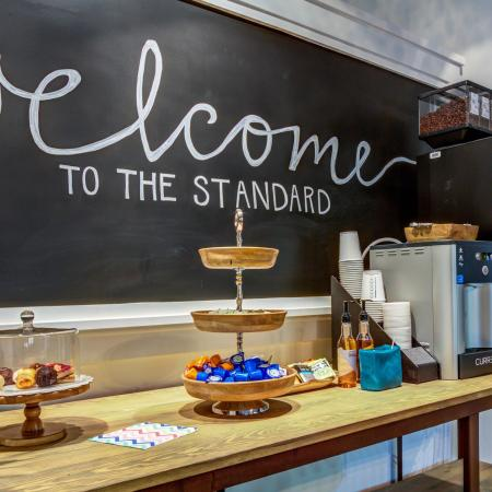 The Standard | Charleston apartments | community clubhouse