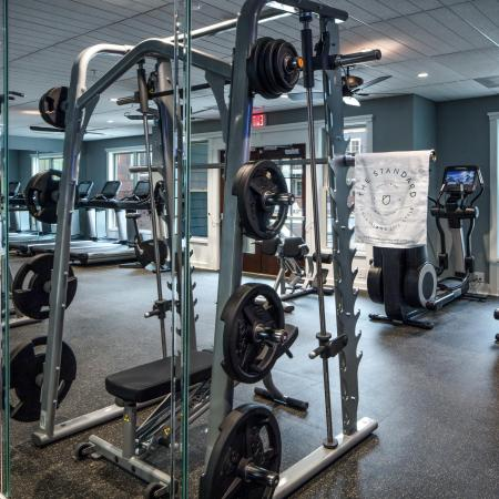 Fitness center free weights and cardio machines | The Standard | James Island Charleston