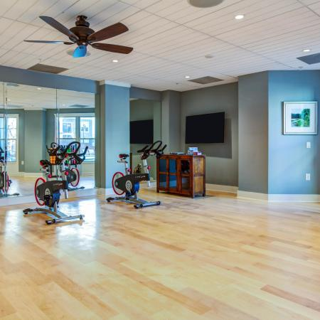 The Standard | Fitness center | Yoga and spinning studio