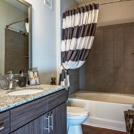 2 bedroom apartment | bathroom | The Standard