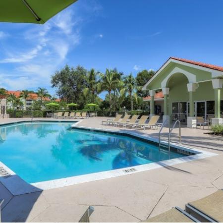 Apartment community pool | Monterra at Bonita Springs