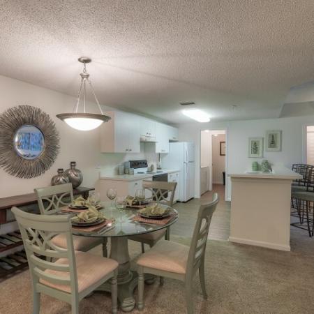 dining room | Monterra at Bonita Springs 2 bedroom apartment