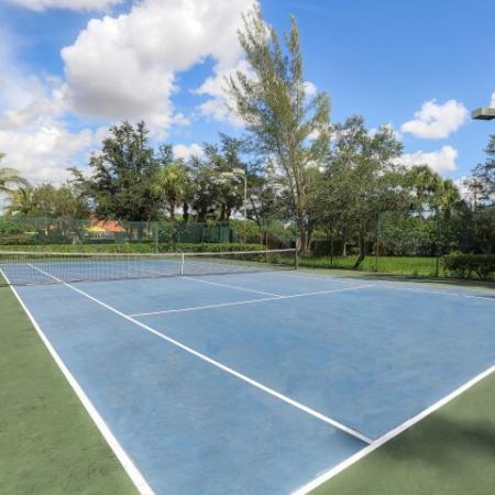 lit tennis court | apartment community amenity | Bonita Springs