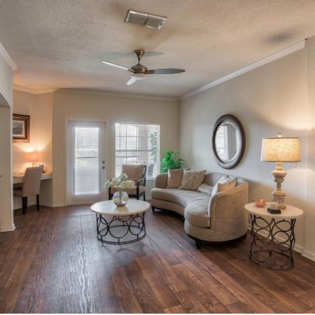 Sanford 2 bedroom apartment | dining room with hardwood flooring