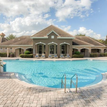 Apartment community with pool in Sanford FL