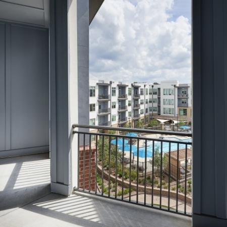 View from Inspire Southpark apartment home