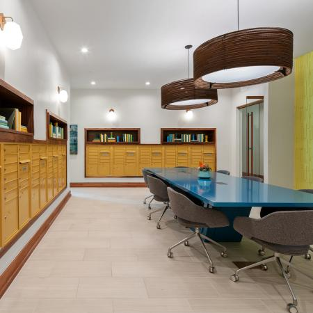 resident amenity space | clubhouse | Rosemary district apartments in Sarasota