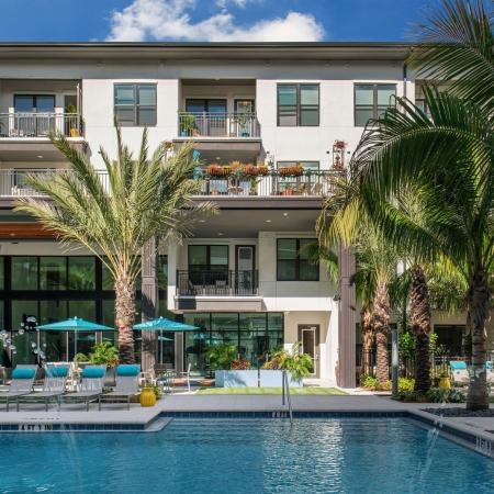 rental community swimming pool | The District at Rosemary
