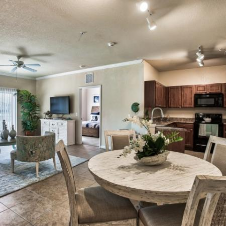 Dining nook | breakfast bar | Yacht Club apartments