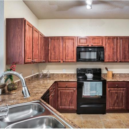 Kitchen electric appliances | built-in microwave | Yacht Club at Heritage harbor