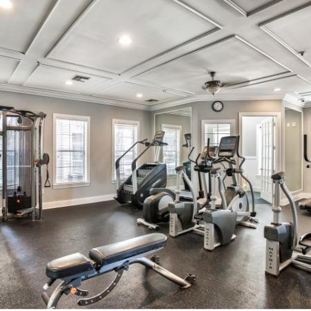 Yacht Club fitness center | cardio equipment