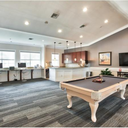 Community Clubhouse | Yacht Club apartments