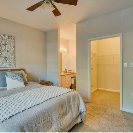 River Birch apartment bedroom