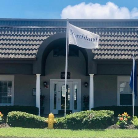 Leasing center at The Brittany | Indialantic rentals