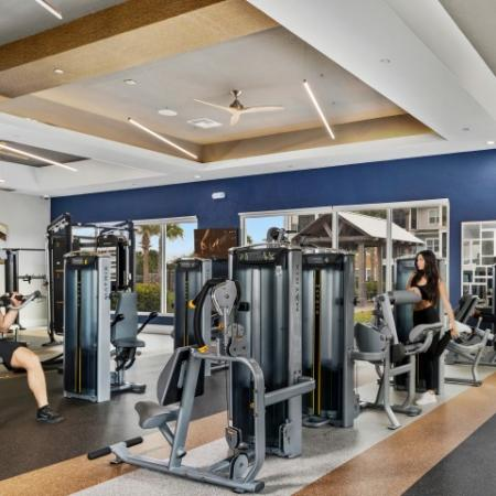 Echo Lake | Apartment gym in Lakewood Ranch