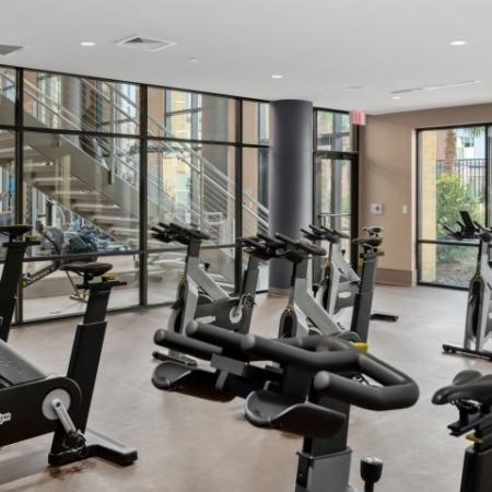 Apartment with fitness club