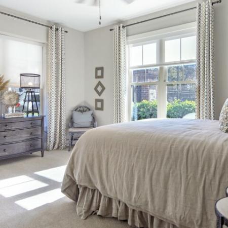 Master bedroom | 1 bedroom apartment | James Island