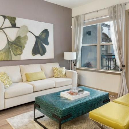 Apartment living room   Rialto apartments