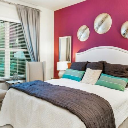 Apartment bedroom   Rialto apartments in Orlando