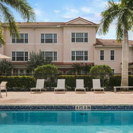 Jupiter FL apartments with pool