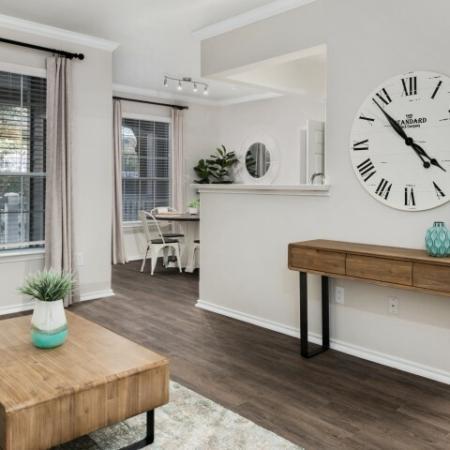 Cedar Park TX apartments with hardwood flooring