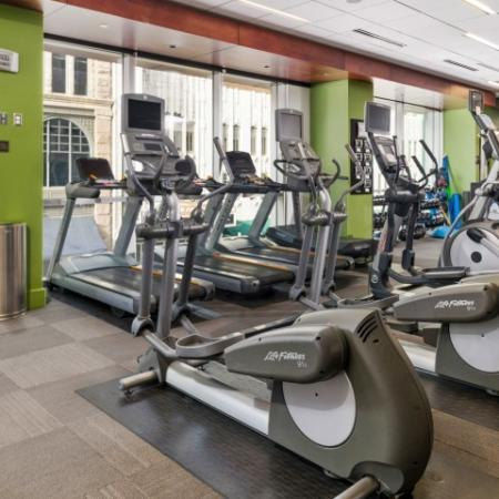 Luxury apartment with fitness