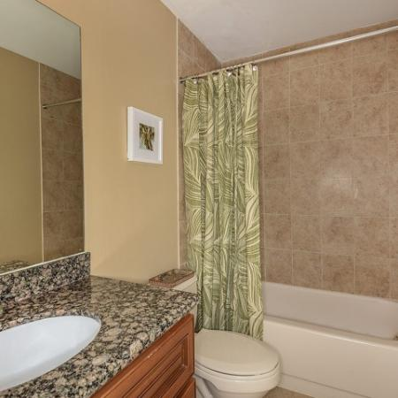 Apartment bathroom apartment community West Palm Beach Florida