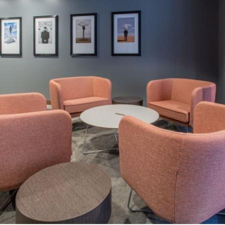 common area seating | Leasing office | Residences at Manchester Place