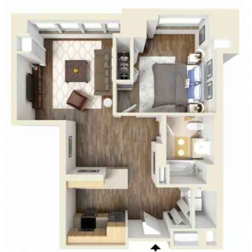 1A floor plan