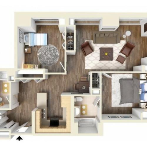 2G floor plan