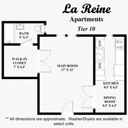 La Reine Apartments