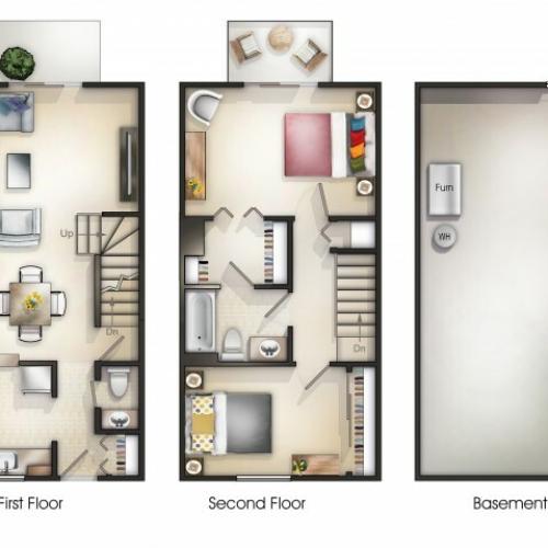 Pinehurst Townhouse Apartments