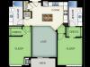 Floor Plan 3 | 50Twenty Apartments