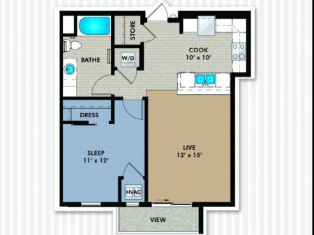 Floor Plan | The Woodlands Apartments