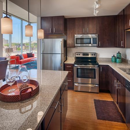 Domain Apartments Kitchen 2