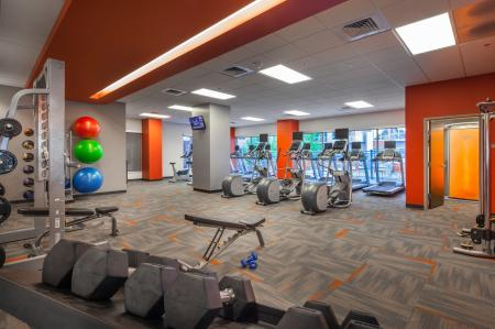 Fitness Center at Domain Apartments 2
