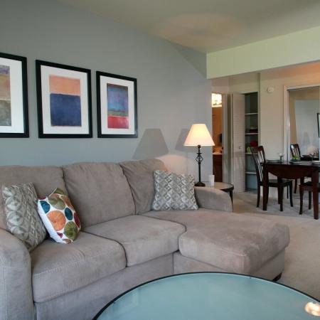 Creekwood Apartments Living Room