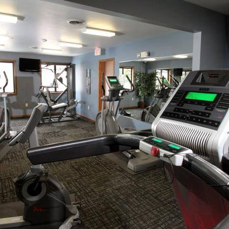 Fitness Center at Creekwood Apartments