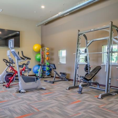 Fitness Center at 50Twenty Apartments