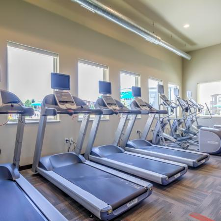 Fitness Center at 50Twenty Apartments 2