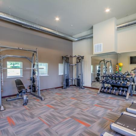 Fitness Center at 50Twenty Apartments 3